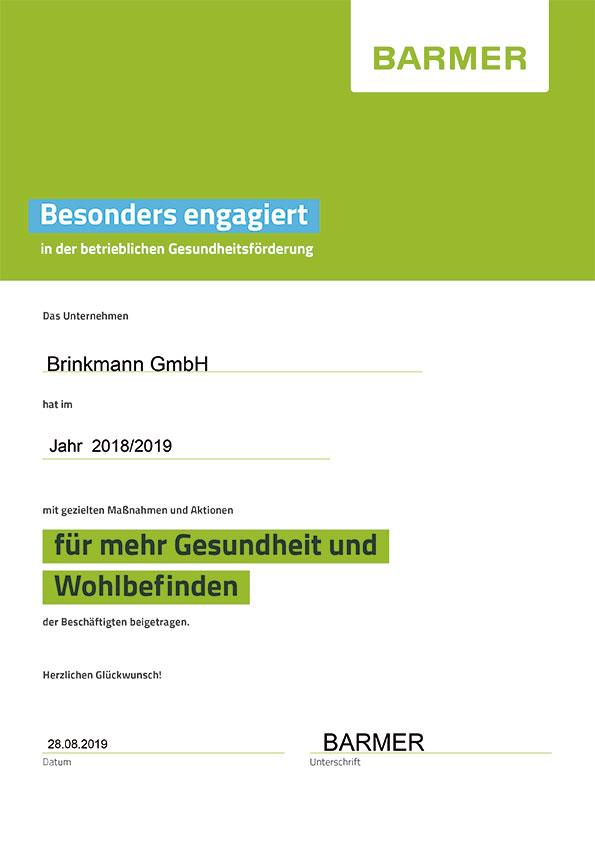 Forum-Brinkmann-Zertifikat