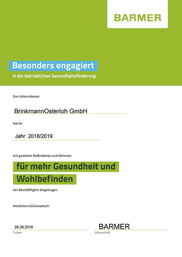 Forum-BrinkmannOsterloh-Zertifikat