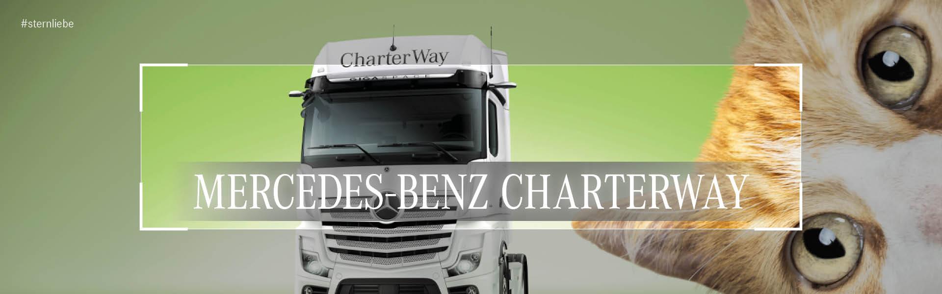 Banner-CharterWay Mercedes Benz Mieten Kaufen verkaufen