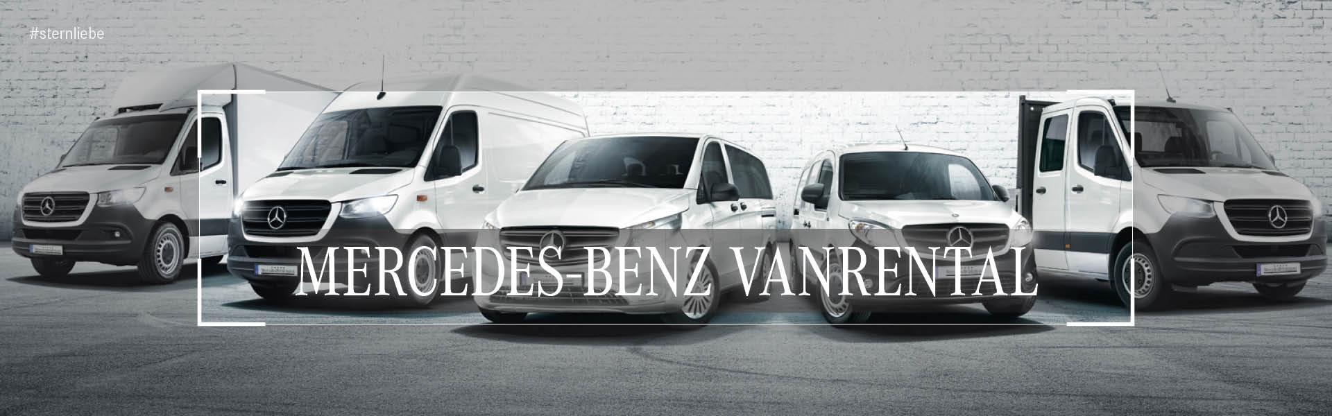 Banner-VanRental Mercedes Benz Mieten Kaufen