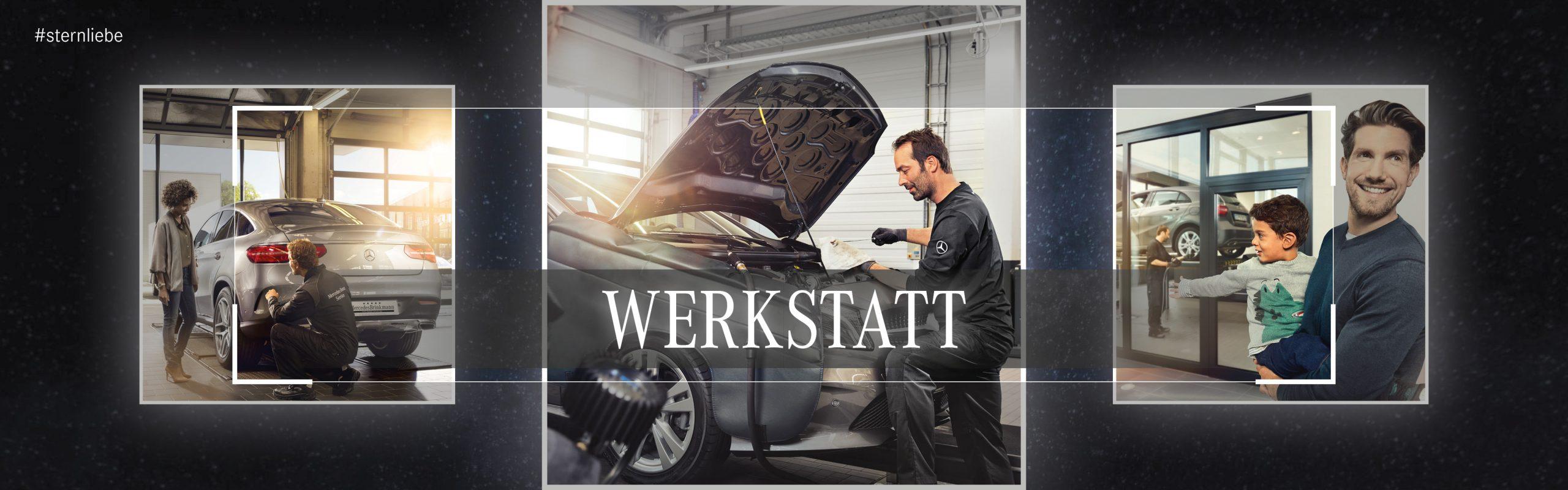 Banner-Werkstatt_Mercedes Benz Brinkmann
