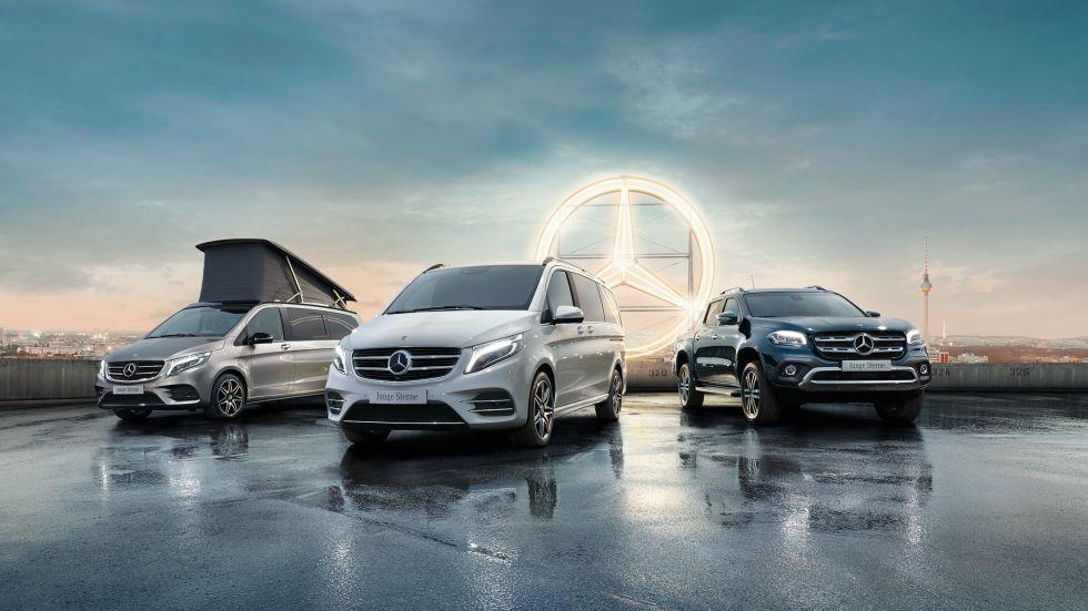 Junge Sterne Transporter bei Mercedes brinkmann in Vorpommern und SchleswigHolstein