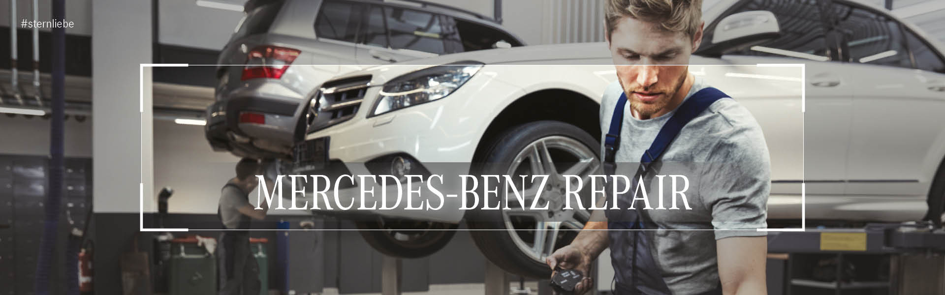 -Mercedes-Benz-Repair mit Autobrinkmann