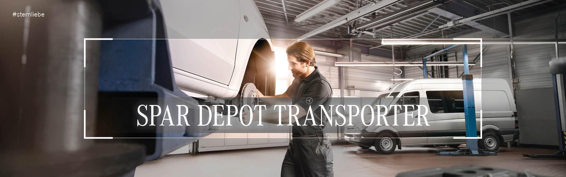 PARDepotTransporter Mercedes Benz Brinkmann