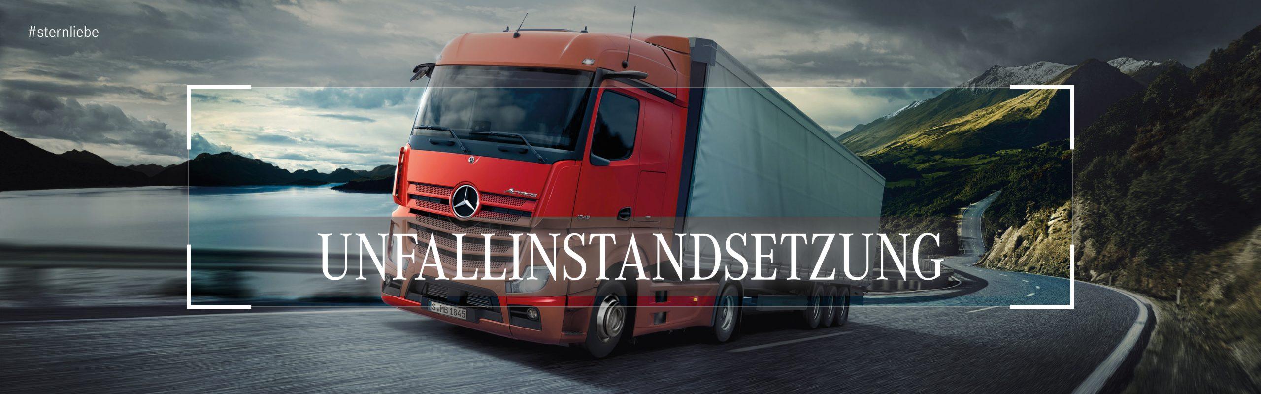 Mercedes-Brinkmann-Unfallinstandsetzung